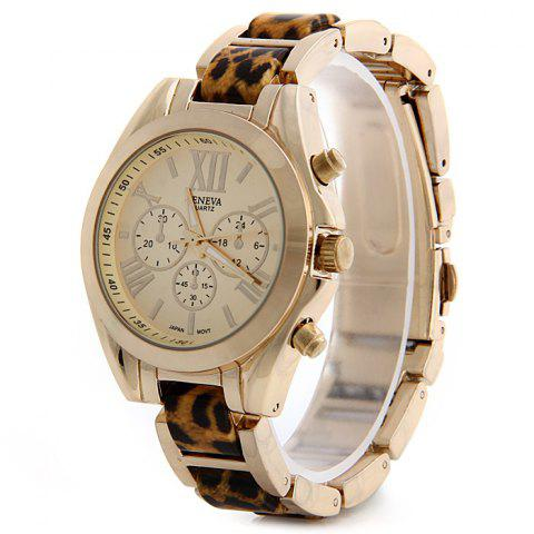 Affordable Geneva Small Dial Female Japan Movt Quartz Watch Steel Watchband