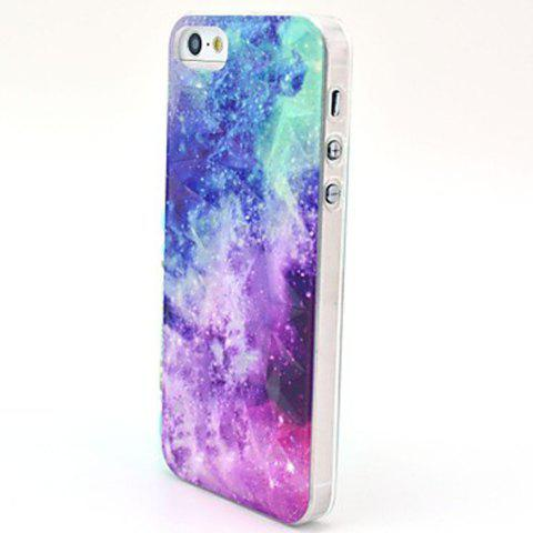 Unique Kinston The Milky Way Pattern PC Phone Back Cover Case for iPhone 5 5S SE -   Mobile