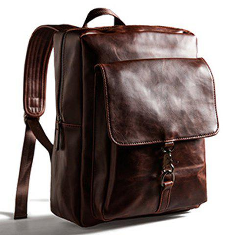 New Vintage Preppy Style Backpack -   Mobile