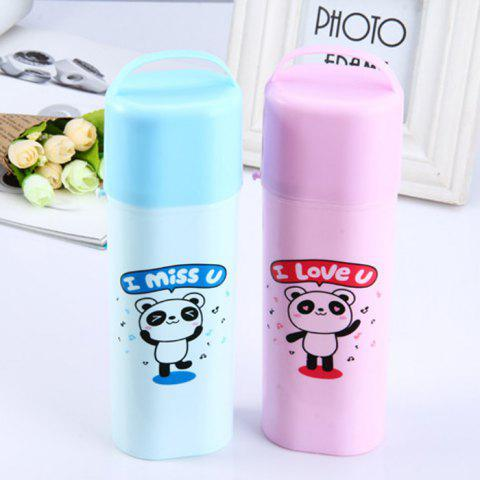 Sale Fashinable Original Toothbrush Case with Cosmetic Mirror Cute Lovely House Use Travelling