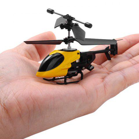 Online QS QS5013 2.5CH Mini Micro Remote Control RC Helicopter Children Toy - RANDOM COLOR  Mobile