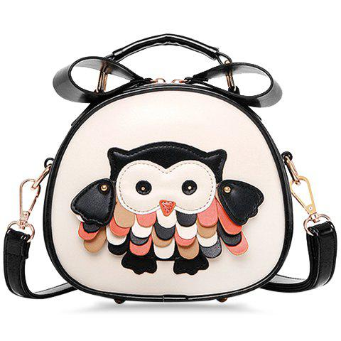 Sale Guapabien Zipper Owl Mini Crossbody Bag -   Mobile