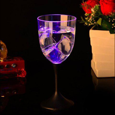 Shops Creative LED Flashing Red Wine Goblet Removable Transparent Novel Drinkware Cup 310ML