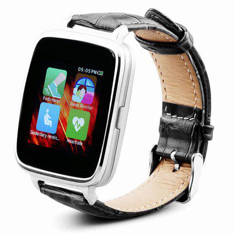 Buy OUKITEL A28 MTK2502 Smart Bluetooth Watch Heart Rate Monitor Sleep Tracker Pedometer Genuine Leather Band iOS Android