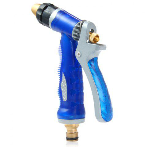 Fashion High Pressure Copper Nozzle Water Gun Garden Water Washing Sprinkler Gun Car Bike Cleaning Tube - AS THE PICTURE  Mobile