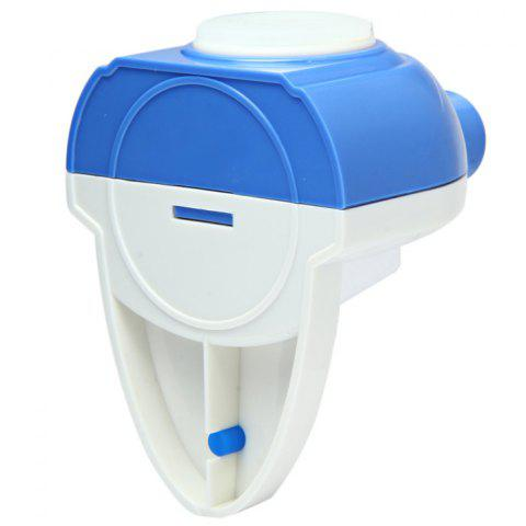 Store YK-911 Automatic Toothpaste Dispenser Squeezer Holder Home Furnishing - BLUE AND WHITE  Mobile
