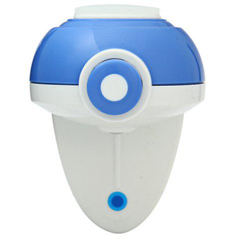 Online YK-911 Automatic Toothpaste Dispenser Squeezer Holder Home Furnishing - BLUE AND WHITE  Mobile