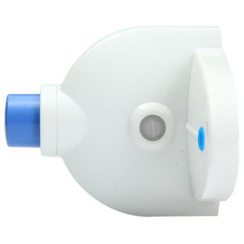 Unique YK-911 Automatic Toothpaste Dispenser Squeezer Holder Home Furnishing - BLUE AND WHITE  Mobile