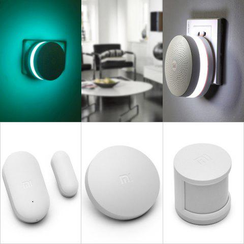 Buy Xiaomi Smart Home Security Sensors Suite Equipment ( Multifunctional Gateway / Wireless Switch / Windows Door Sensor / Human Body Sensor )