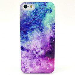 Kinston The Milky Way Pattern PC Phone Back Cover Case for iPhone 5 5S SE -