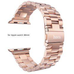 Hoco Watch Band Stainless Steel Watchband with Safety Folding Clasp for Apple Watch 38mm