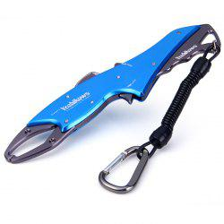 Yoshikawa Fish-shaped Aluminium Alloy Portable Fish Gripper Fishing Gear
