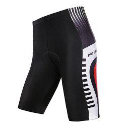 WOLFBIKE Breathable Men Cycling Soft Elastic Short Pants with Foam Rubber Pad for Summer