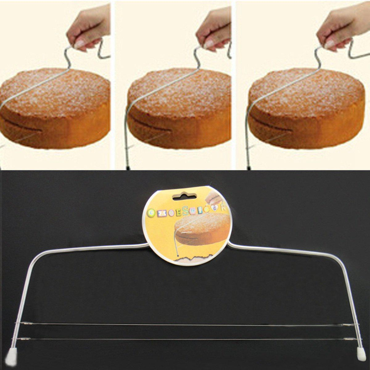 Latest Practical Stainless Steel Cake Cutter Printing Mold Bakeware Kitchen Accessories