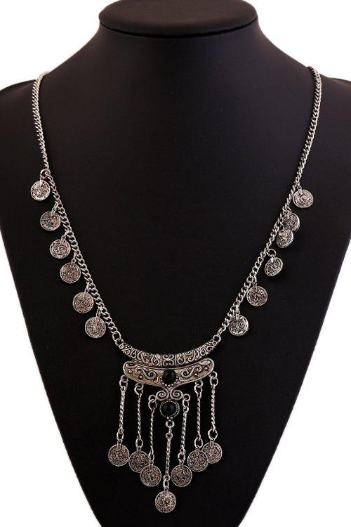 New Chic Resin Coin Pendant Necklace For Women