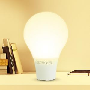 Intelligent LED Bluetooth 3.0 Stereo Lamp Emotion Speaker Light Dazzle Color Decoration - WARM WHITE LIGHT