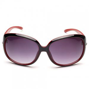 Chic Rhinestone and Hollow Out Design Big Frame Sunglasses For Women -