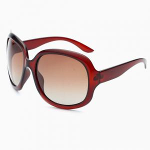 Chic Simple Big Frame Sunglasses For Women -