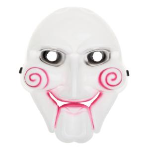 Chainsaw Killer Theme Scary PVC Mask for Halloween Masquerade Parties -