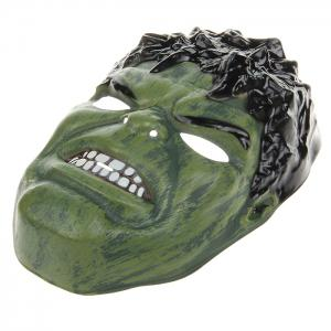 Giant Green Hulk Cosplay PVC Mask for Halloween Masquerade Party - BLACK AND GREEN