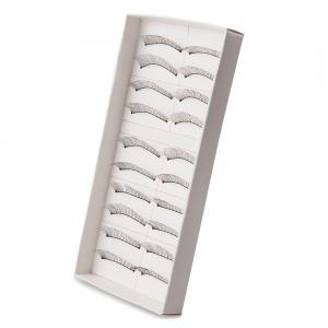 10 Pairs Handmake False Eyelashes Makeup Cosmetics - AS THE PICTURE