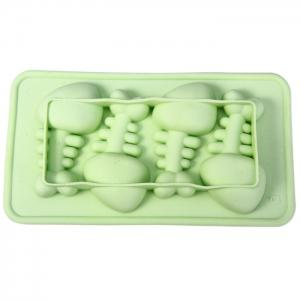 TPR Silicone Fishbone Style DIY Ice Mold Cool Drinks Chocolate Mould for Party -