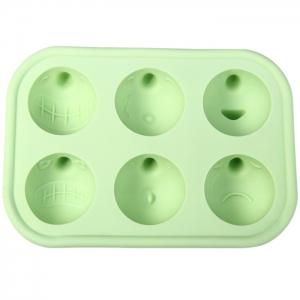 TPR Silicone Funny Face Style DIY Ice Mold Cool Drinks Chocolate Mould for Party - RANDOM COLOR