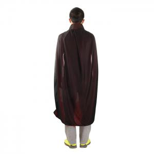 140cm Halloween Standing Collar Sorcerer Costume with Double - Sided Vampires Adult Cloak -