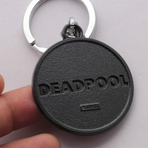 Stylish Marvel Deadpool Symbol Alloy Keyring -