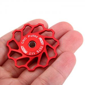 AEST Bicycle Clino-axis 11T Rear Derailleur Pulley for Cycling - RED