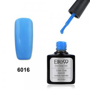 Elite99 One Step Gel Polish 3 In 1 UV LED No Need Base Top Coat  10ml - Light Blue - 29