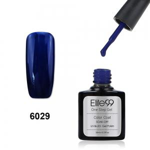 Elite99 One Step Gel Polish 3 In 1 UV LED No Need Base Top Coat  10ml - Sapphire Blue