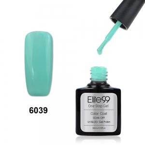Elite99 3 in 1 Soak Off One Step Gel Polish No Need Base Top Coat UV LED Lamp - Mint Green