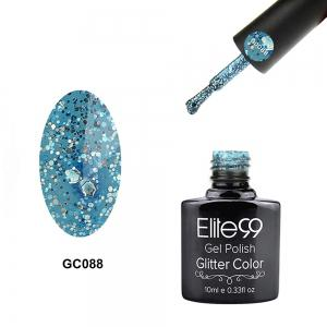 Elite99 Super Star Diamond Glitter Nail Gel Polish Soak Off UV LED Nail Art 10ml