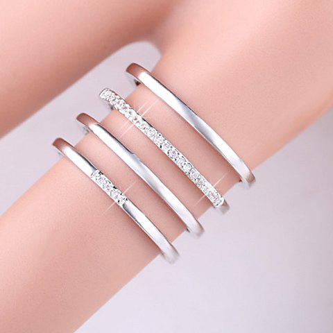 Store Delicate Beads Hollow Ring For Women -   Mobile