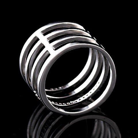 Unique Delicate Beads Hollow Ring For Women -   Mobile
