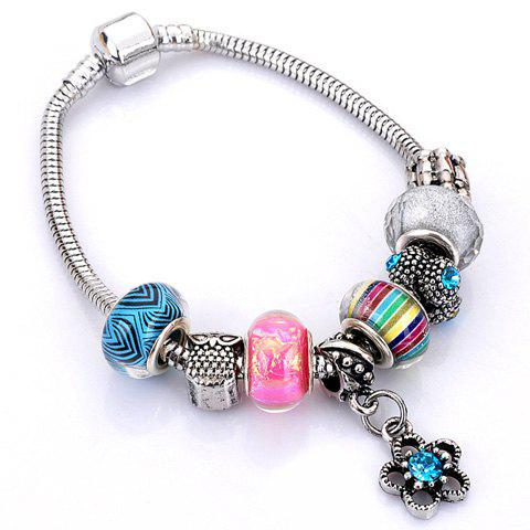 Best Flower Elephant Heart Butterfly Bead Bracelet - RANDOM COLOR PATTERN  Mobile