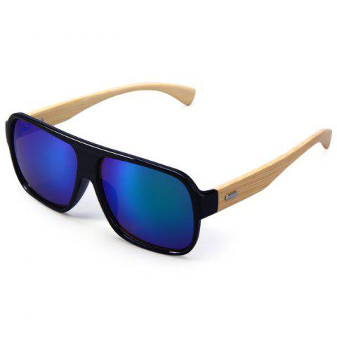 Sale Unisex Anti-UV Wooden-earstems Sunglasses for Outdoor Fishing Camping