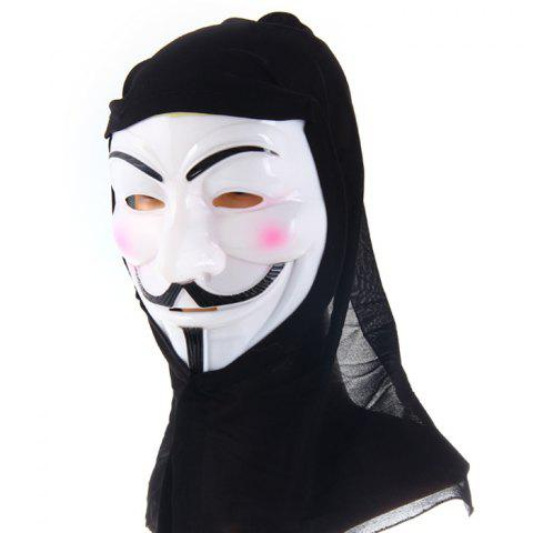 Hot V for Vendetta Team Halloween Masquerade Carnival Mask with Cloth for Party Use