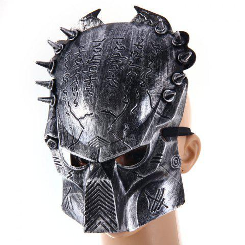 Best Predator Design Masquerade Carnival Halloween Mask Props for Party Use - SILVER  Mobile