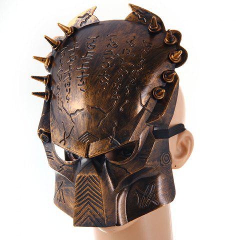 Chic Predator Design Masquerade Carnival Halloween Mask Props for Party Use