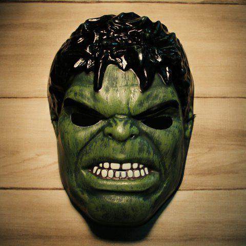 Hot Giant Green Hulk Cosplay PVC Mask for Halloween Masquerade Party BLACK AND GREEN