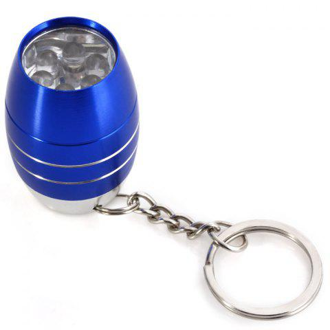 Sale Cute Mini 6 LED Bright White Light Keychain Outdoor Camping Tool - BLUE  Mobile
