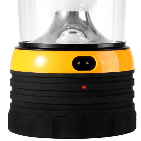 Affordable YU HAO RY – T96 24 LED Whiter Light Solar-powered Rechargeable Camping Lamp Lantern - ORANGE  Mobile