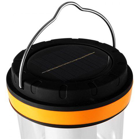Discount YU HAO RY – T96 24 LED Whiter Light Solar-powered Rechargeable Camping Lamp Lantern - ORANGE  Mobile