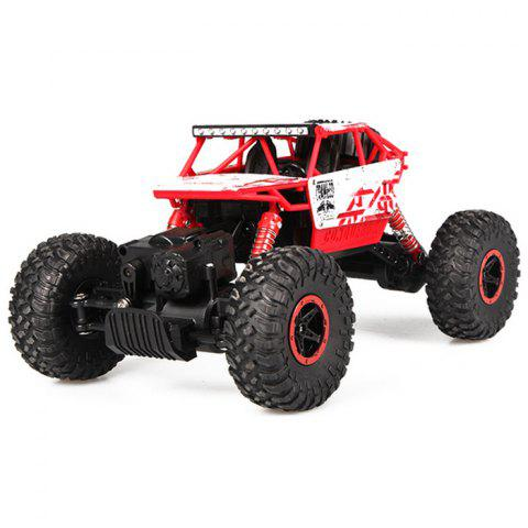 Shop HB - P1801 HB-P1801 HBP1801 1:18 Scale 2.4G 4.8V 700MAH Double motor Four-wheel Drive Rally Car EU Plug - RED  Mobile