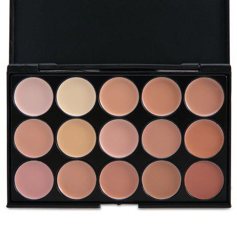 Fancy 15 Colors Professional Salon Makeup Party Contour COMPLEXION 1