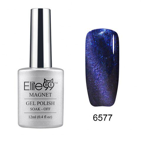 Latest Elite99 Soak Off Cat Eye 3D Nail Tip UV Gel Polish Nail Art Design 12ml SHIMMER MIDNIGHTBLUE