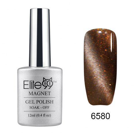 Fashion Elite99 Soak Off Cat Eye 3D Nail Tip UV Gel Polish Nail Art Design 12ml SHIMMER TAUPE