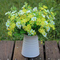 A Bouquet of New Living Room Decoration Multicolor Simulation Chrysanthemum (No Vase)
